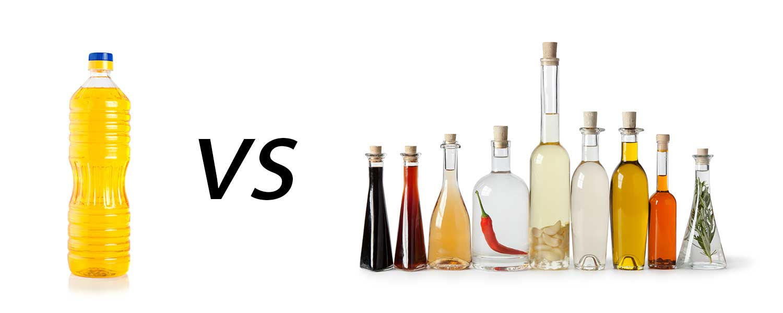 Olaj - étolaj vagy hidegen sajtolt olaj?
